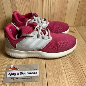 ADIDAS ALPHABOUNCE RC XJ PINK Kids RUNNIG SHOES